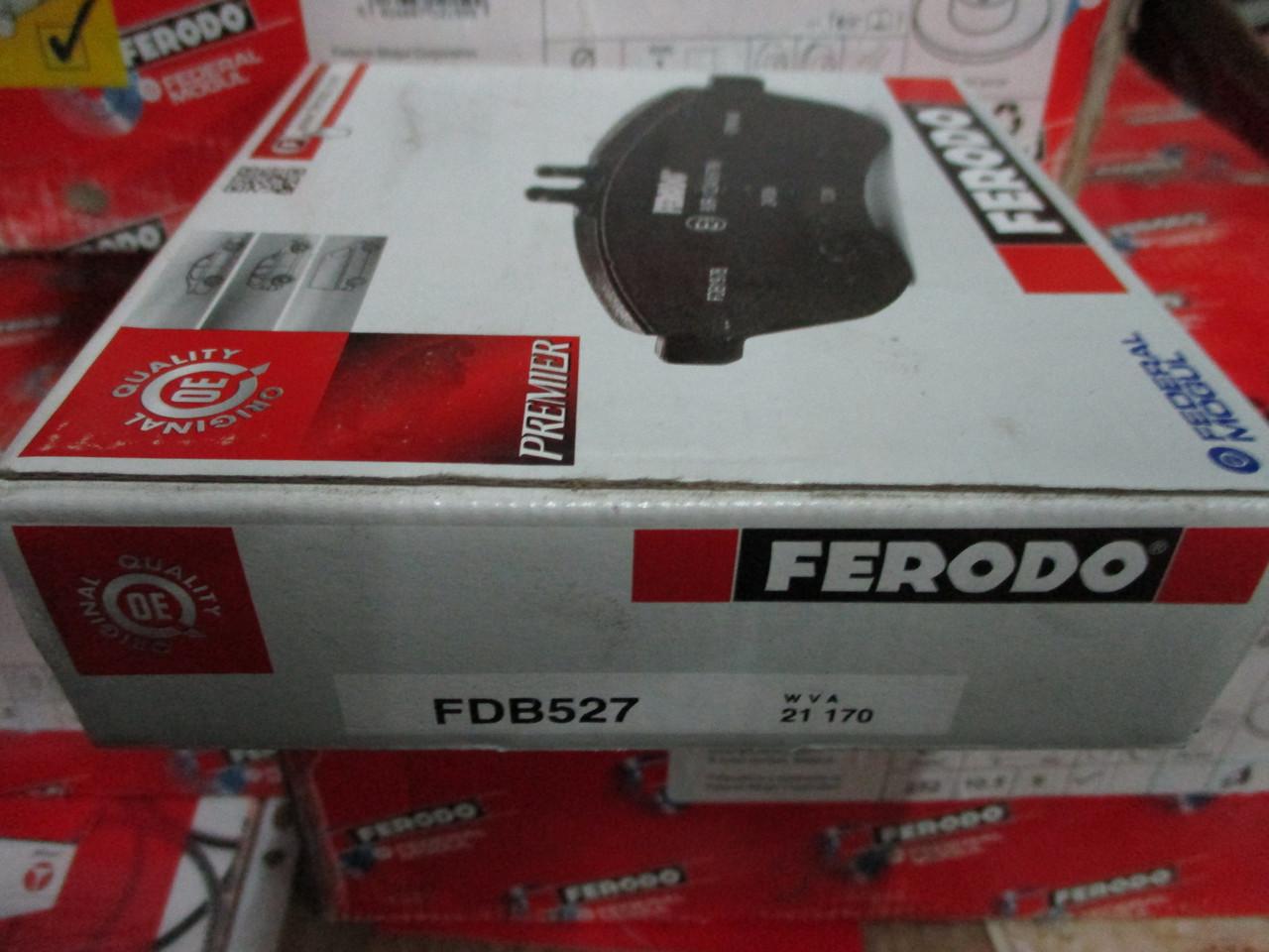 Тормозные колодки ваз 2108-21070 Ferodo
