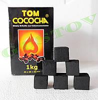 Уголь для кальяна Tom Cococha в фирменной упаковке  - 1 кг