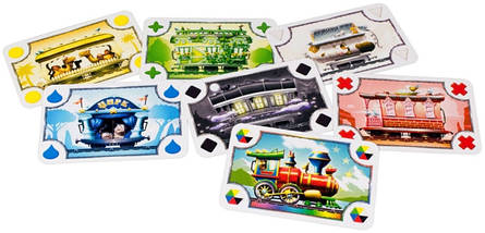 Настольная игра Билет на поезд Junior: Европа (Ticket to Ride Junior: Europe) рус., фото 2