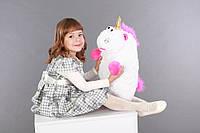 Плюшевая игрушка Единорог для детей 55 см, плюшевый мягкий единорог Флаффи