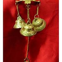 Колокольчики дверные бронзовые (29х12х12 см) Код:4410