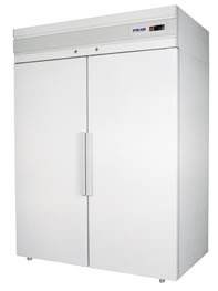 Шкаф комбинированный CC 214-S Polair (700+700 л)