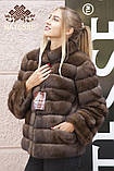 Київ Дніпро ательє пошиття шуб кожушків з соболя на замовлення в хутряному ательє індивідуальний, фото 3