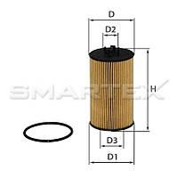 Фильтр масляный SMARTEX   ОЕ18006ЕСО (SCT SH 4044 P)