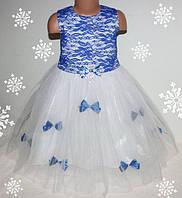 Детское Красивое нарядное платье для девочки 2-6 лет ( на молнии)