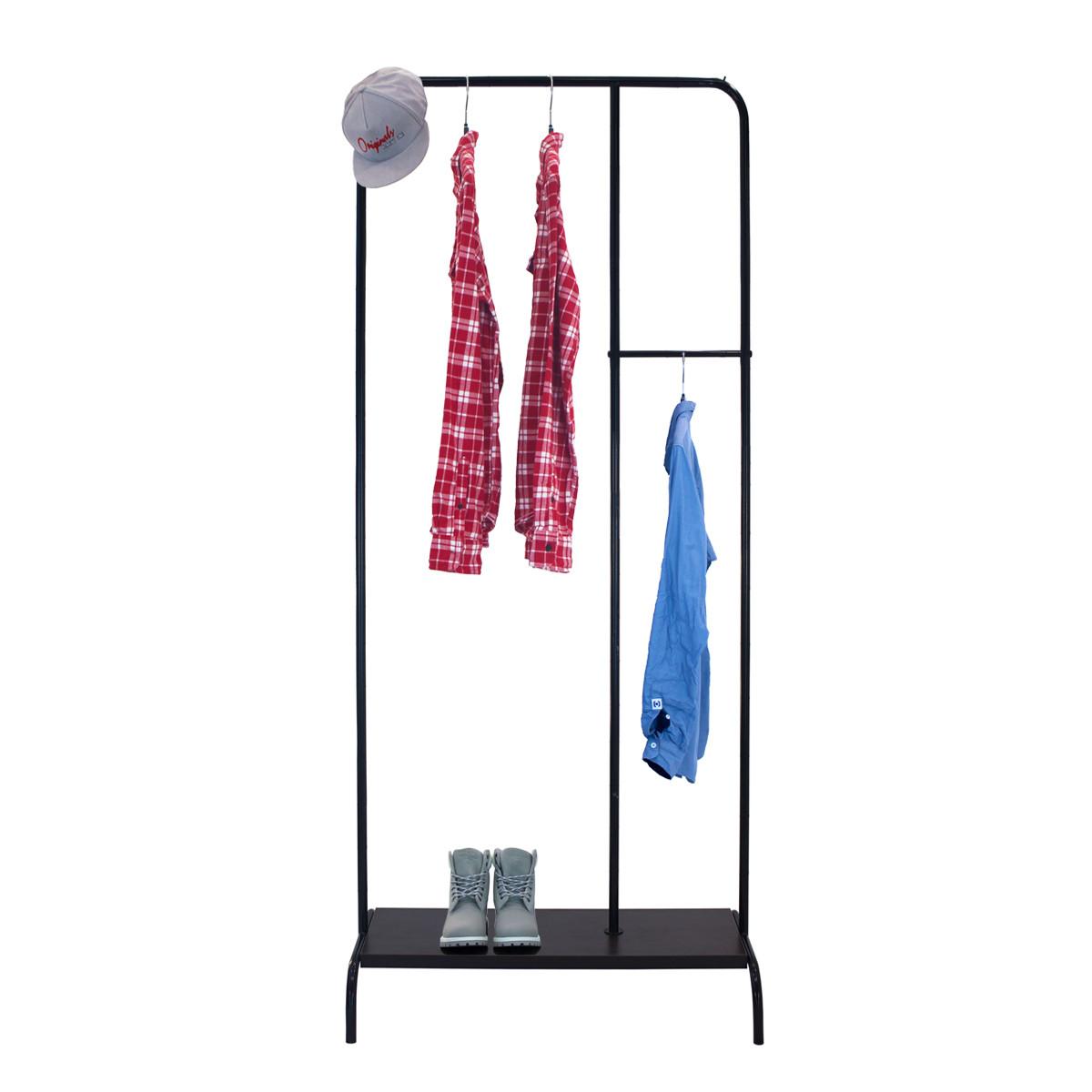 """Стійка плитка для одягу """"Лофт 4"""" - 210x100x48,5 см"""