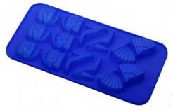 Силіконова форма для випічки Шоколад/Лід асорті 21*10.5 см(шт)