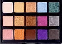 Палитра теней профессиональная 15 цветов