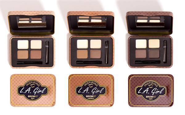 Палитры для бровей L.A Girl Inspiring Brow Palettes, фото 2