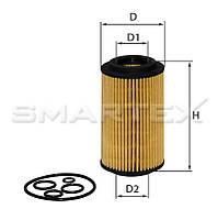 Фильтр масляный SMARTEX ОЕ18012ЕСО (SCT SH 425 P)