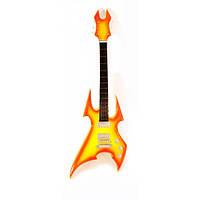 Гитара миниатюра дерево (23х8х1 см) Код:29666