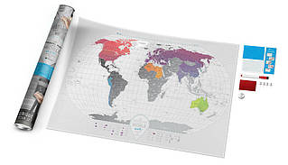 Скретч карта світу Travel Map World AIR