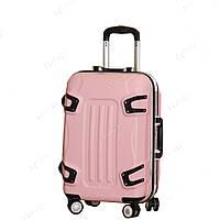 Стильный пластиковый чемодан на колесах, средний SS51018413