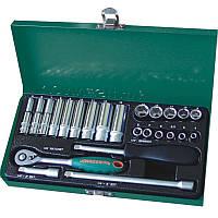"""Набор инструментов Jonnesway 1/4"""" DR 4-13 мм (25 предметов)"""