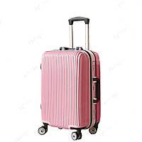 Женский пластиковый чемодан,средний SS51022513
