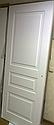 Межкомнатные двери Рио Тессоро К 2 ПГ белая эмаль, фото 3