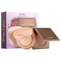 Набор бронзер хайлайтер Tarte limited-edition glow girls bronze & highlight