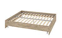 Кровать Толедо 1800 с каркасом без спинки