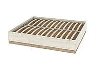 Кровать Толедо 1800 с подъёмным механизмом без спинки