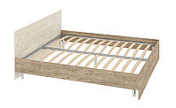 Кровать Толедо 1800 с каркасом со спинкой