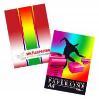 Бумага цветная для принтера насыщенный темный цвет А4 80г/м 100л. SPECTRA color_401 черный насыщенный
