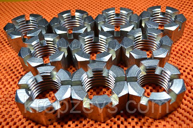 Гайка М16 DIN 937 класса прочности 8.0