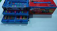 """Набор художника в коробке,3 яруса 56пр """"Тачки Cars"""",280*140*120мм.Детский набор для рисования """"Тачки Cars"""" в к"""