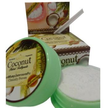 Зубная паста Тайская с кокосовым маслом и борнеолом 30 г