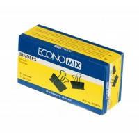 Набор биндеров 32 мм черный Economix упаковка 12шт E41006
