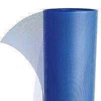 Сетка фасадная стекловолоконная 145г/м.кв 5х5мм. (синяя)