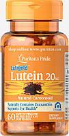 Puritan's PrideLutein 20 mg with Zeaxanthin 60 softgels