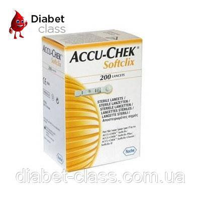 Ланцеты Акку Чек Софткликс (Accu-Chek Softclix)200 штук