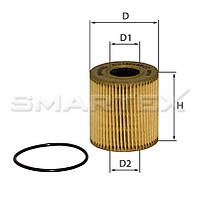 Фильтр масляный SMARTEX ОЕ18019ЕСО (SCT SH 4035 P)