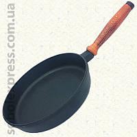 Сковорода чугунная классическая 260 х 40 мм