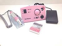 Фрезер для маникюра и педикюра Nail Drill ZS-602 PRO 35000 об/мин 35Вт Pink