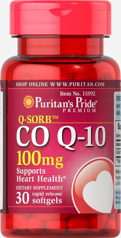 Puritan's PrideCO Q-10 100 mg 30 softgels