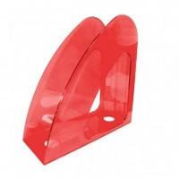 Лоток для бумаги вертикальный пластик ECONOMIX Радуга , ярко-красный E31904-03