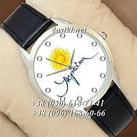 Часы Украина A8093G Black-Silver