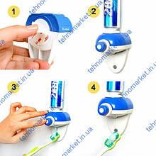 Ручной дозатор зубной пасты