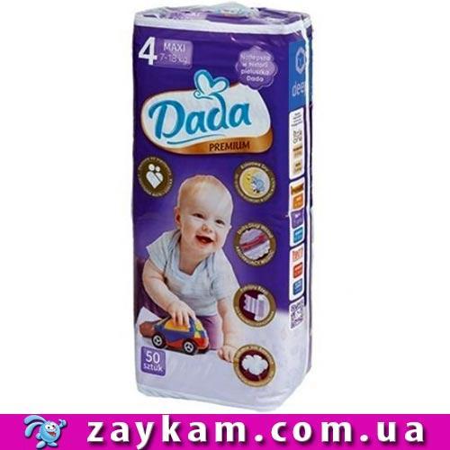 Памперсы подгузники DADA 4 Premium Maxi 7-18 кг (Дада 4 Премиум четвёрочка) 1c9f0354903
