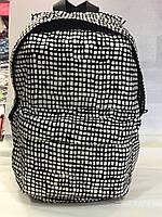 Рюкзак White and black 810 Черно белый (32x23x14 см) купить оптом со склада 454a49fd270