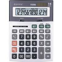 Калькулятор OPTIMA 14 разрядов 197*148*49мм O75506
