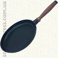 Сковорода чугунная блинница 240 х 25 мм