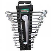 Набор ключей комбинированных на холдере 14 шт. 6-24мм  TOPTUL GAAC1401