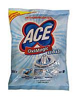 Пятновыводитель АСЕ OxiMagic white Сияющая белизна - 200 г.
