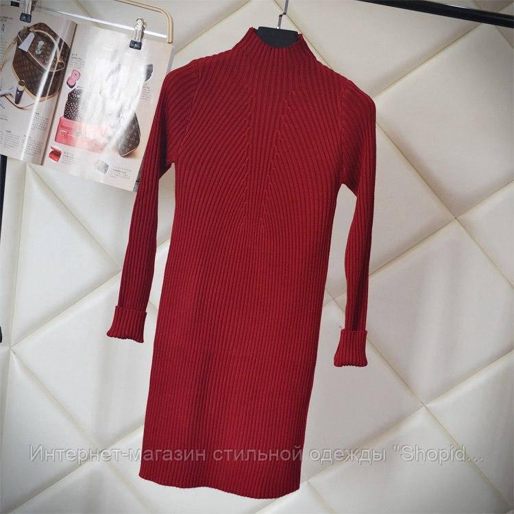 89950b4b255 Женское шикарное теплое платье-лапша (4 цвета)  продажа