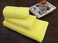 Полотенце махровое 40х70 лимонный Узбекистан