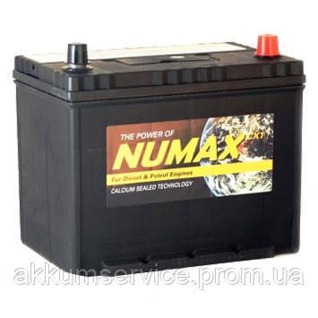 Аккумулятор автомобильный Numax Asia 75AH R+ 630A (85D26L)