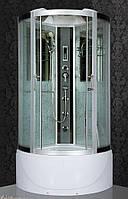 Гидробокс SAN FO978 (90*90*215) поддон 30/45см белое сатин/серое