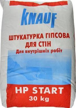 Гипсовая штукатурка KNAUF HP START, 30 кг, фото 2